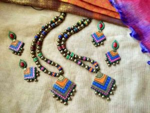 Terracotta Jewelry Online Price And Design