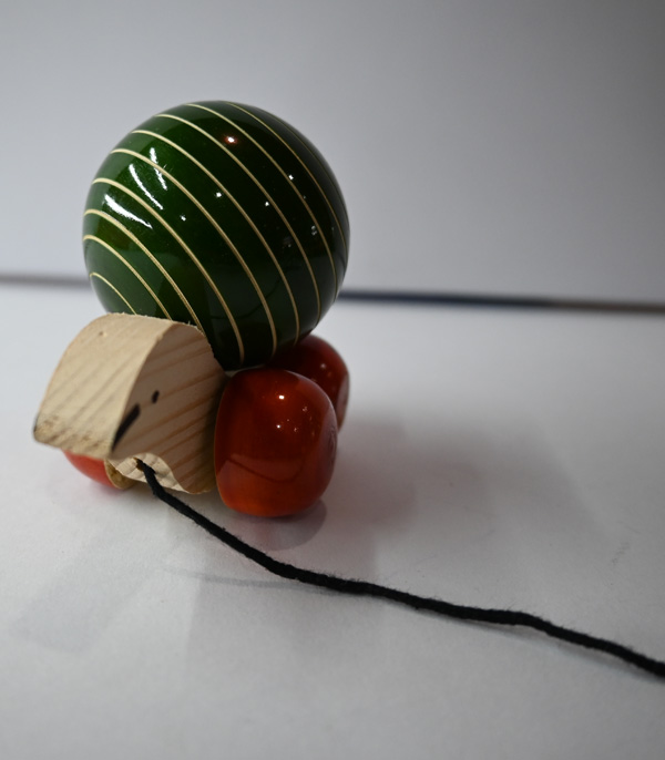 Wooden Toy Turtle Pulling Rope By Workmanship