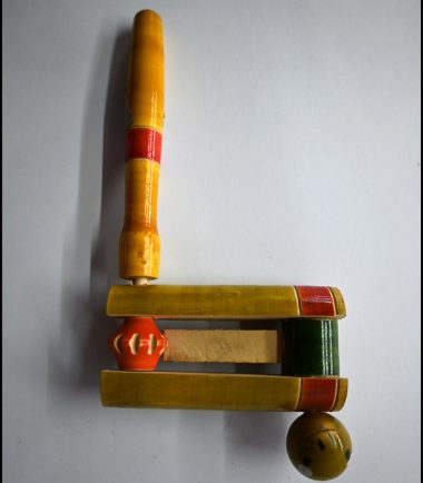 Wooden Toy Whistle And Rotating Sound